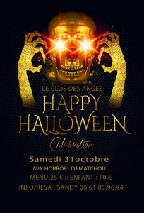 FLYER HALLOWEEN LE CLOS DES ANGES